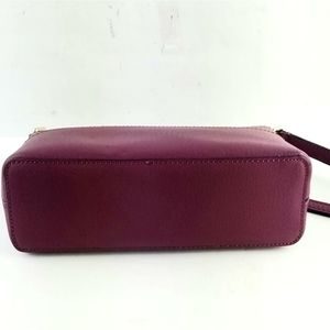 kate spade Bags - Kate Spade New York Burgundy Leather Crossbody Bag